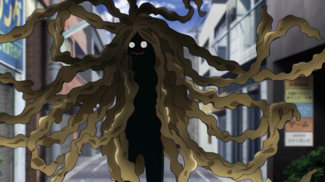 O monstro alga do episódio. Saitama comeu ele no final, literalmente