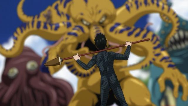 Stinger com jeitão de Lancer (franquia Fate)