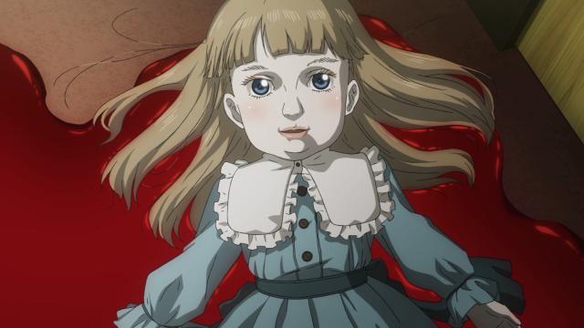 A Michiru original sobre o sangue dos pais da Shiki
