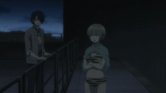 Eu já comentei noutro episódio como é comum os dois aparecerem fisicamente separados quando discutem o caso