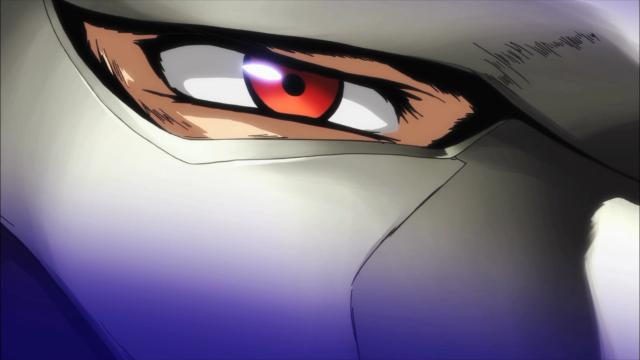 Close-up nos Olhos Vermelhos da Ameaça Não Tão Sutil