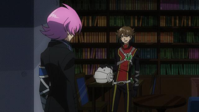 Jirou e Jin se reencontram
