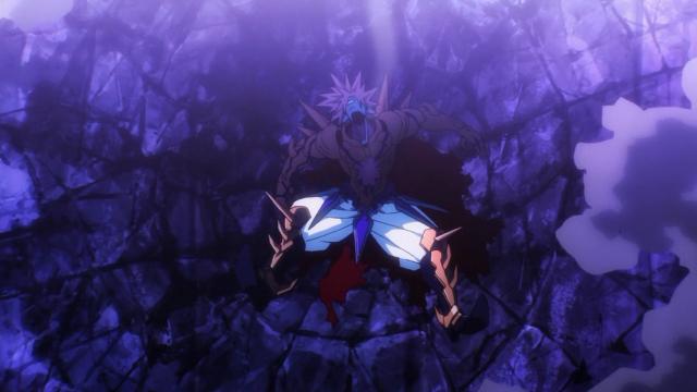 Lord Boros, após um soco do Homem Um-Soco