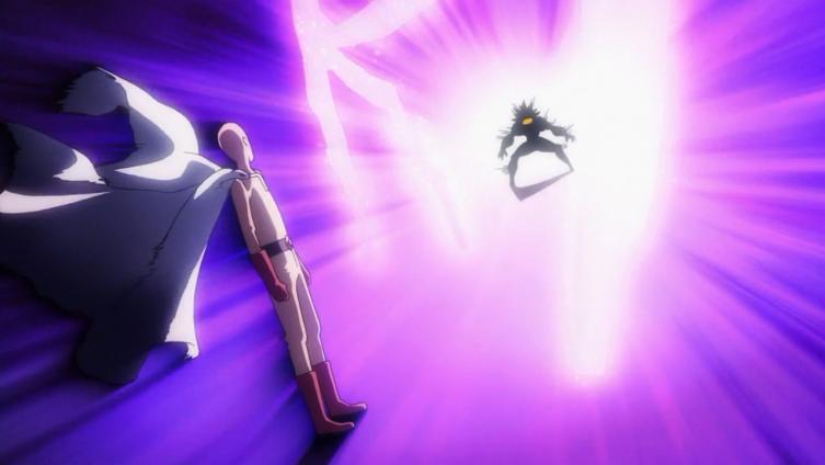 Finalmente Saitama encontra um oponente (quase) à sua altura!