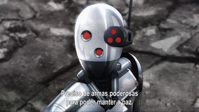 """Concordo com o que o Metal Knight diz, só não vi ele praticando nem um pouco dessa tal """"manutenção de paz"""" da qual ele fala até agora"""