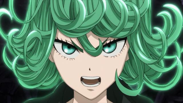 Tatsumaki irritada com Saitama e Genos