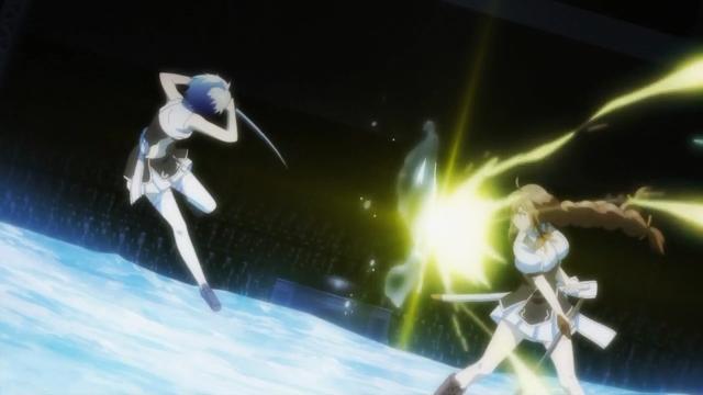 A Shizuku lutou muito bem, mas mesmo assim não teve chance nenhuma