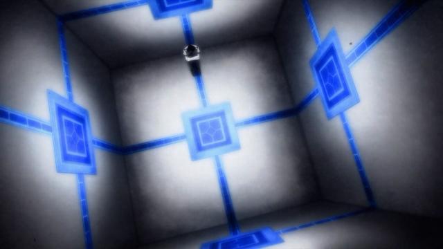 Ikki trancado em uma sala que sequer possui uma cama ou móveis ou banheiro ou água potável