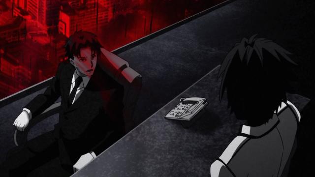 O pai de Ikki se vira para ele apenas para dizer que nunca o reconhecerá