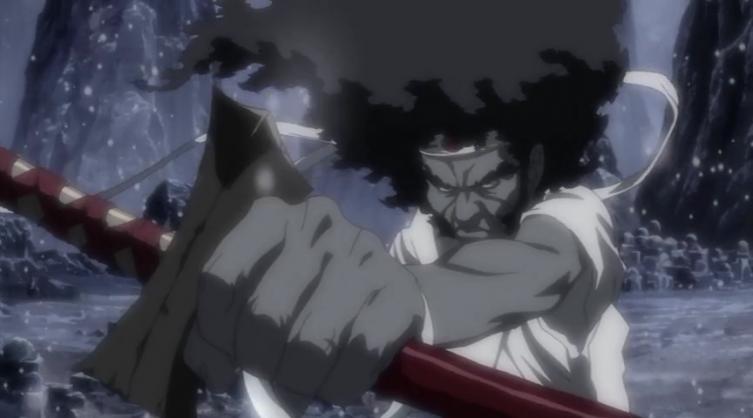 Seu nome é Afro, e seu sobrenome é Samurai