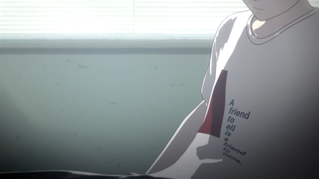 Logo no começo o anime te convida a escolher um lado. Ficar em cima do muro, tentar conciliar a todos não é uma opção