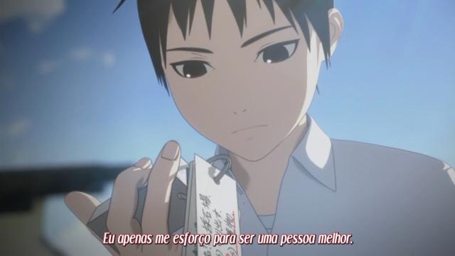 """Antes de sua vida virar do avesso, Kei sempre se esforçava para ser """"um ser humano melhor"""""""