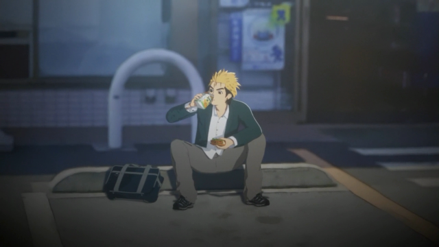 Kaito se esforçava para terminar cada dia, suponho?
