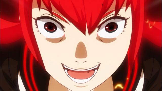 Eu juro que isso não é reaproveitamento de imagem do segundo episódio: é a Reoko do passado