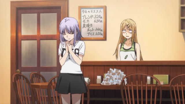 As duas garotas de Dagashi Kashi