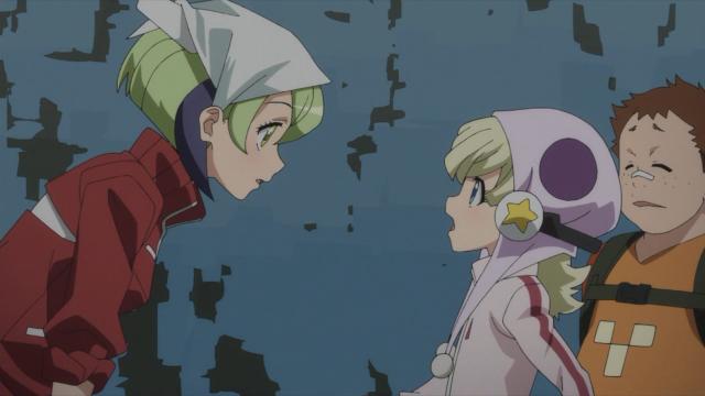 """""""Você já 'fez' com o Kyouma?"""" - A garotinha é mais sabida que a Mira. Bom, é mais velha também"""