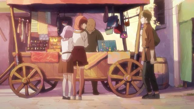 A Shihoru não consegue encarar um garoto ainda, nem mesmo (especialmente?) o Manato