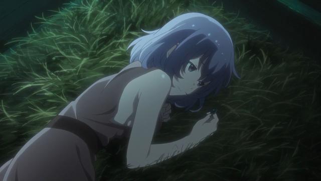 Ela espera sonhando acordada que o Manato vá até ela