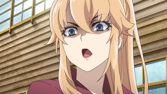Uma das irmãs do Haruta