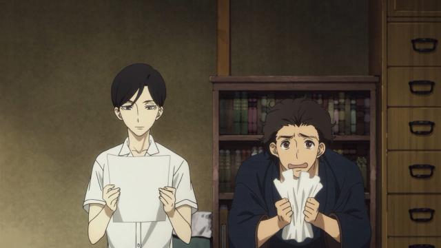 Sukeroku não ficou feliz com seu nome artístico atribuído pelo seu mestre (que não era Sukeroku)