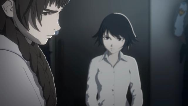 Izumi vai conversar com Eriko, irmã do Kei, que continua sendo a garota mais mau-humorada do anime