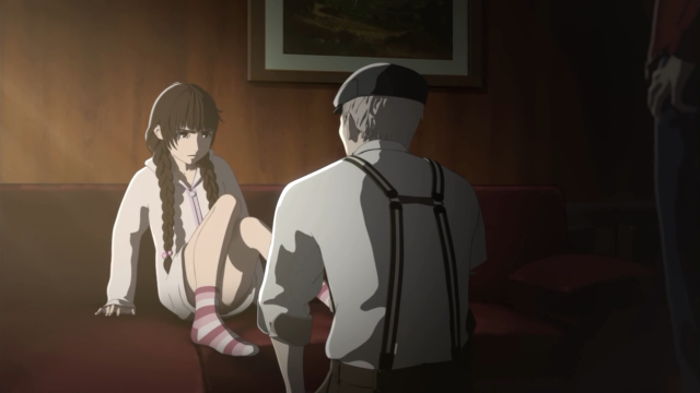Nessa, o Satou parece apenas um pedófilo