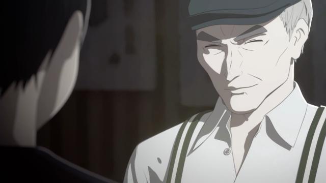 Como o Kei consegue acreditar em alguém com esse sorriso claramente maligno?
