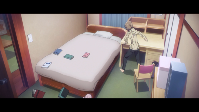 A mãe da Kayo, enquanto isso, está agindo feito adulta e destruindo ferozmente o quarto da garota em um ataque de fúria