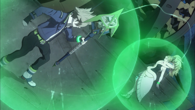 Round 3: Hiiragi vs Hazama - Fight!