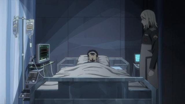 Kyouma acorda depois da batalha