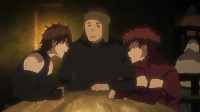 O Ranta arranjando confusão com o Haruhiro