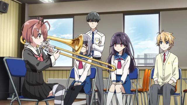 Goto Akari, a trombonista