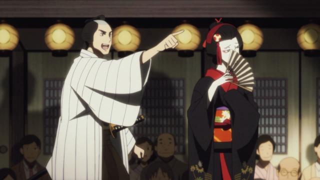 Sukeroku e Yakumo contracenando