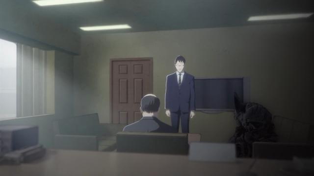 Achei legal como a Shimomura se deu ao trabalho de fazer seu fantasma sentar
