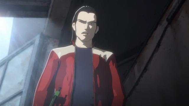 Tanaka parece abalado pela verdade que acaba de ouvir