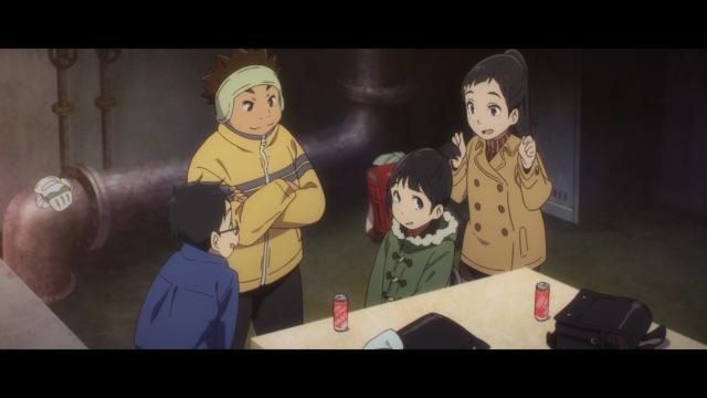 Tudo resolvido, depois de conseguir irritar o Kenya, a Aya virou namoradinha do Kazu e se encaixou bem no grupo dos garotos
