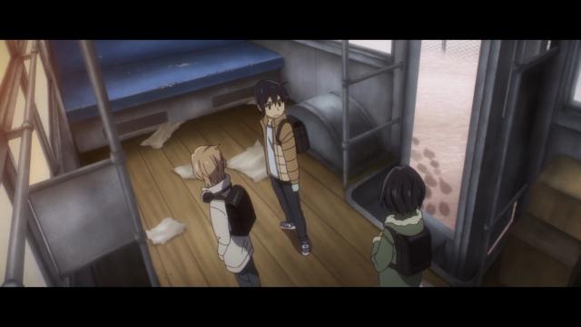 O ônibus foi esvaziado e o Satoru permanece sem ideia de quem é o assassino