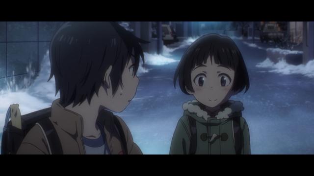 Hiromi super feliz porque o Satoru está preocupado com ele