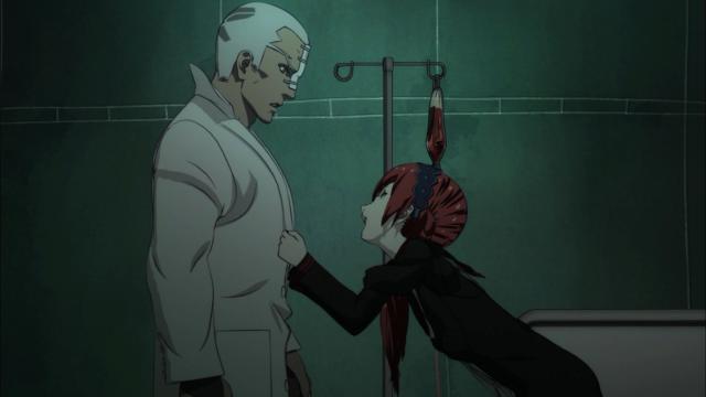 Reoko mal conseguia se manter de pé - e ainda tinha seis burankis para derrotar