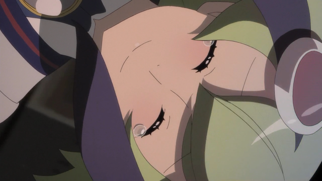Mas pôde salvar o Kyouma, está feliz