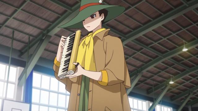 Makoto e sua escaleta fabricada sob medida
