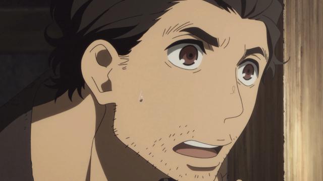 A cara de espanto de Sukeroku ao ver Yakumo