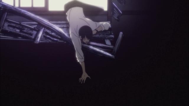 Olhando fundo para o abismo mas ainda ancorado na luz; Yakumo não pode cair