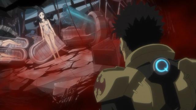 Kyouma se encontrou com Miyabi usando Genesis