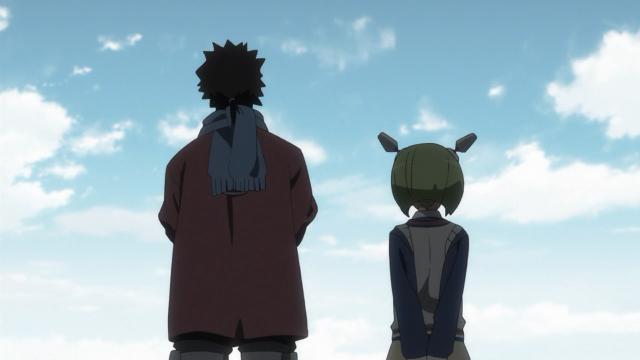 Kyouma e Mira, apenas o futuro adiante