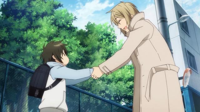 Chihiro conhece Madoka e descobre que tem um tio após a morte de sua mãe
