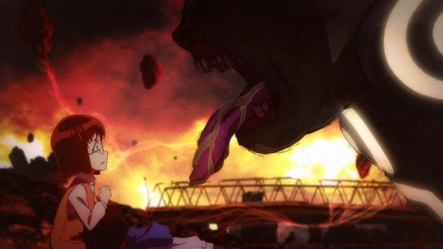 Acho incrível a arte do Magano (e do anime em geral)