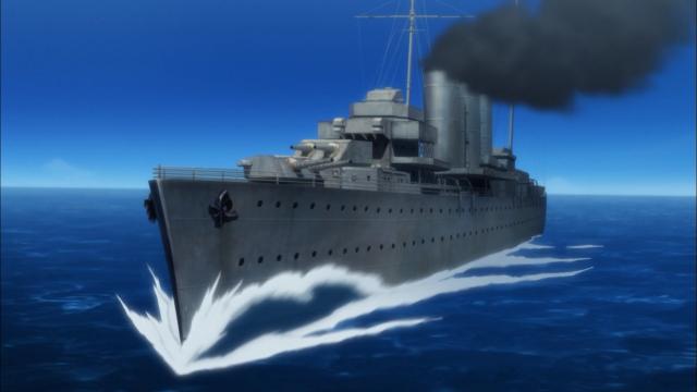 Esse episódio escolheu homenagear Haifuri, depois do anterior fazer o mesmo com Kabaneri