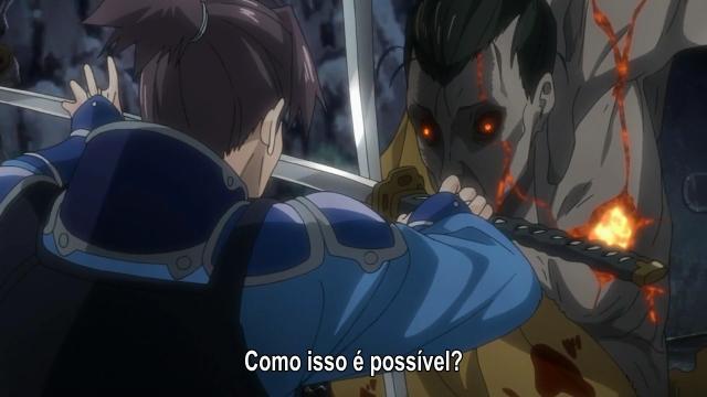 Kurusu enfrenta o kabane espadachim