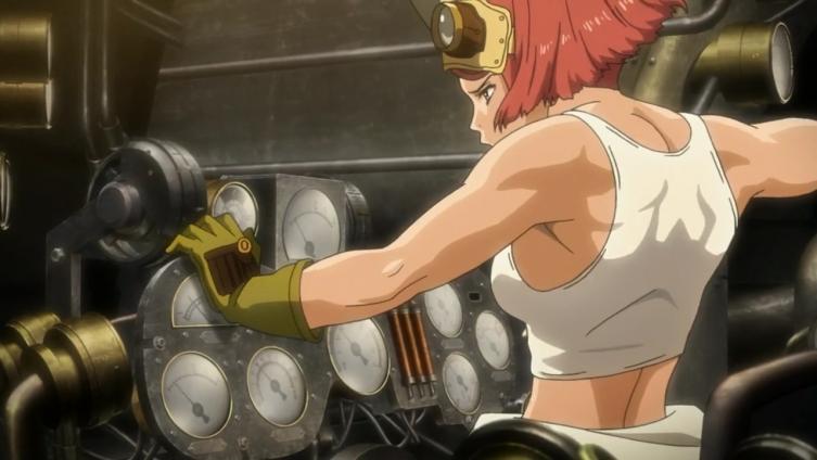 Belos músculos, Yukina!